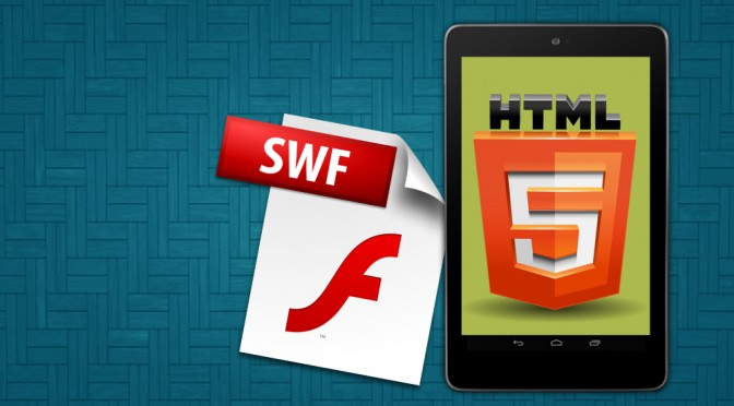 converts a SWF flash game to html5