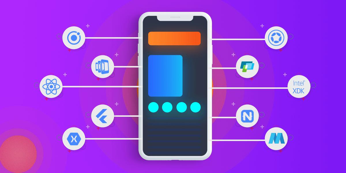 top 10 app development framework